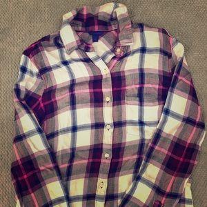 Women's Soft plaid flannel